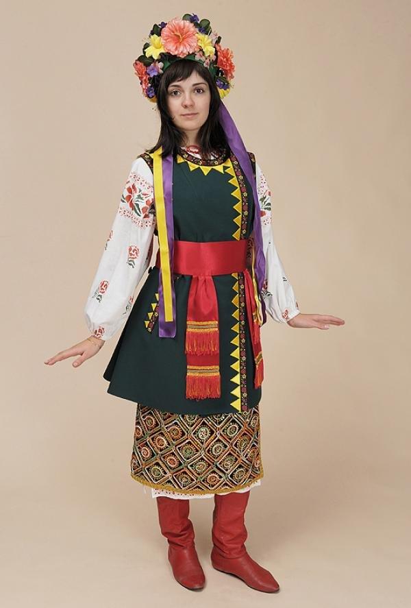 украинский женский национальный костюм фото устранения потницы
