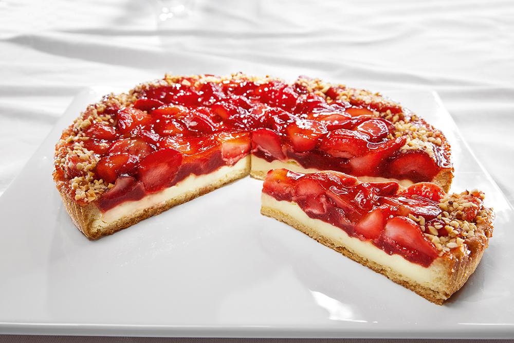 Пирог с клубникой рецепт песочное тесто пошагово в