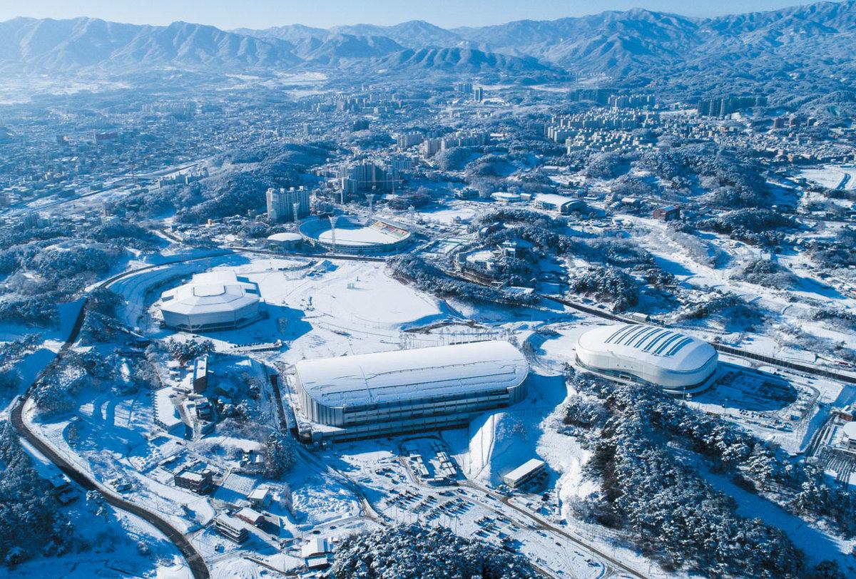 фотографии олимпийских объектов после олимпиады виды