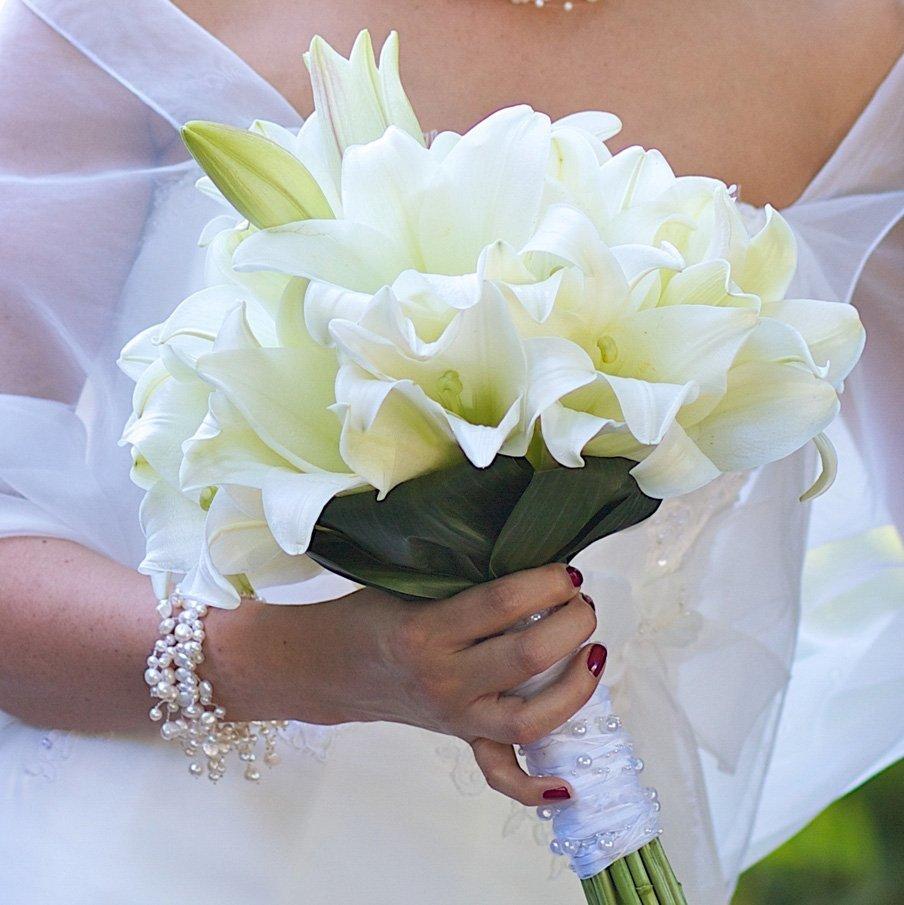 Склад, какой формы должен быть букет невесты