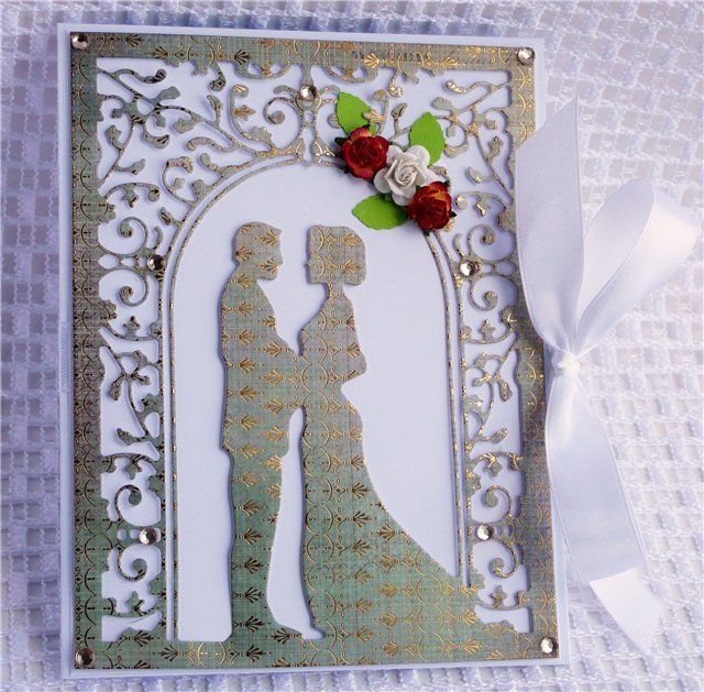 Открытка на венчание скрапбукинг, дню