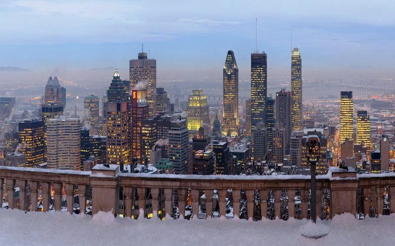 Монреаль, зима