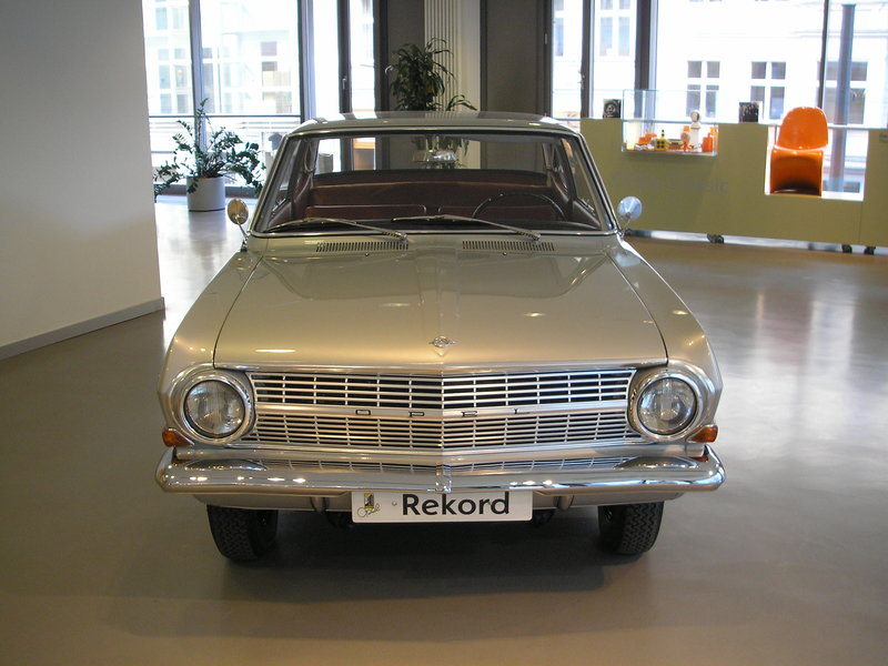 opel record a. Годы пр-ва:1963—1965