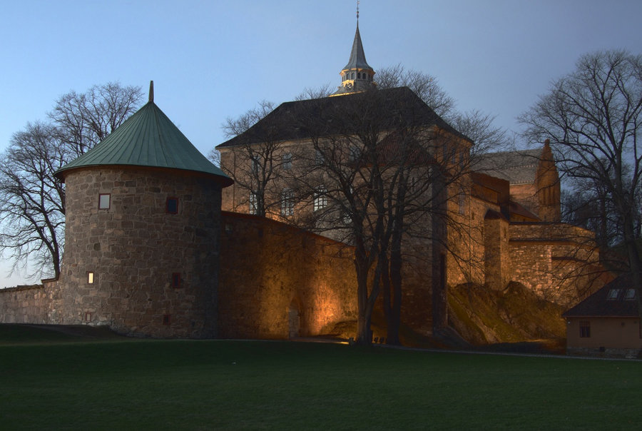 castles of norway The royal palace in oslo is open to the public during the summer.