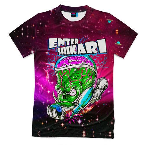 Мужская футболка 3D Enter Shikari