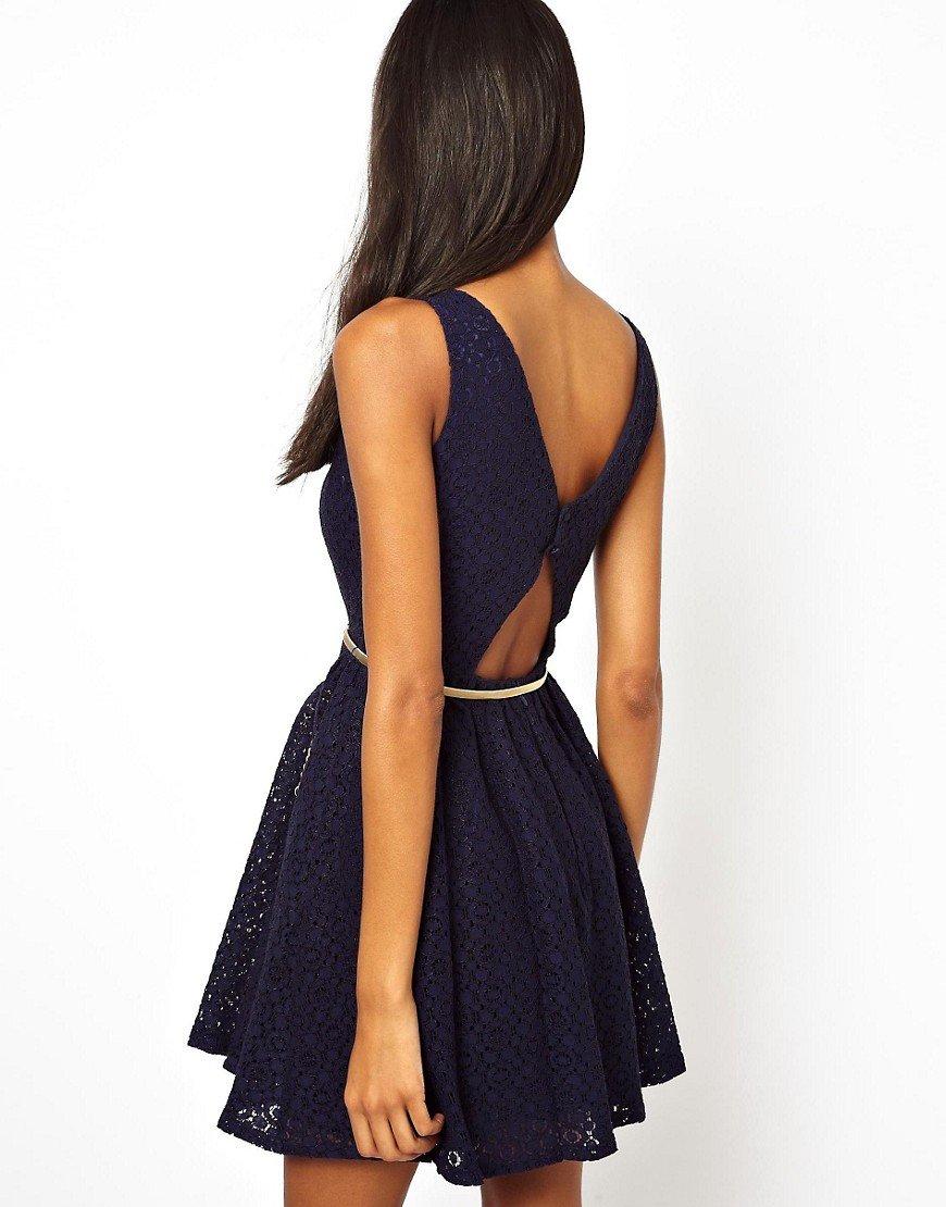 Платья открытая спина