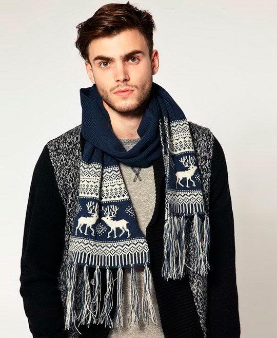 39f21c33f7c ... Модные мужские шарфы