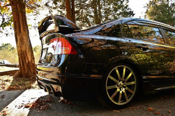 black honda civic si sedan body kit mugen card from. Black Bedroom Furniture Sets. Home Design Ideas