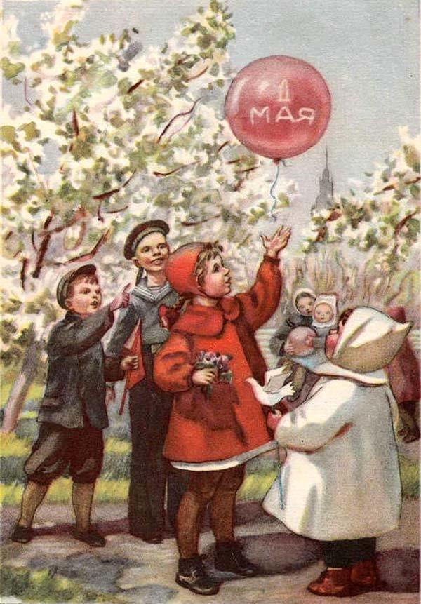 Прикольные картинки, советские открытки праздничные дни