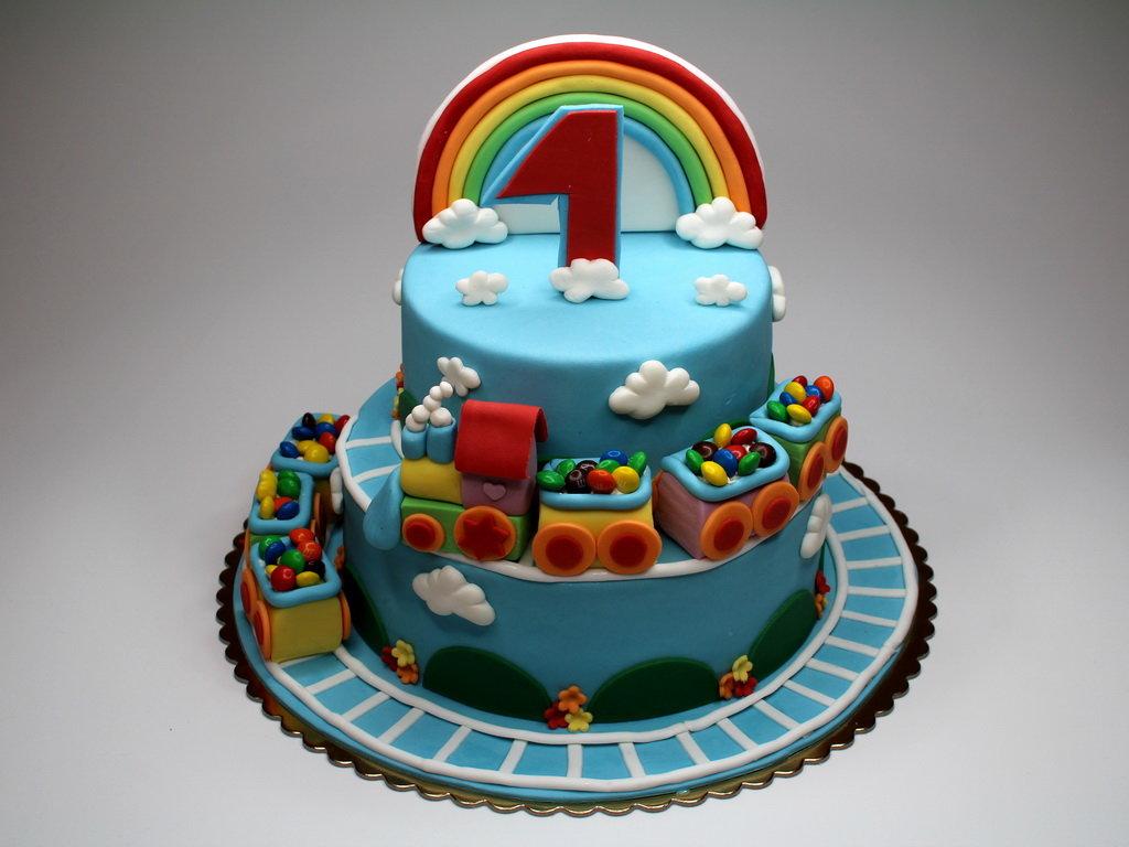 Картинки детский торт для мальчика