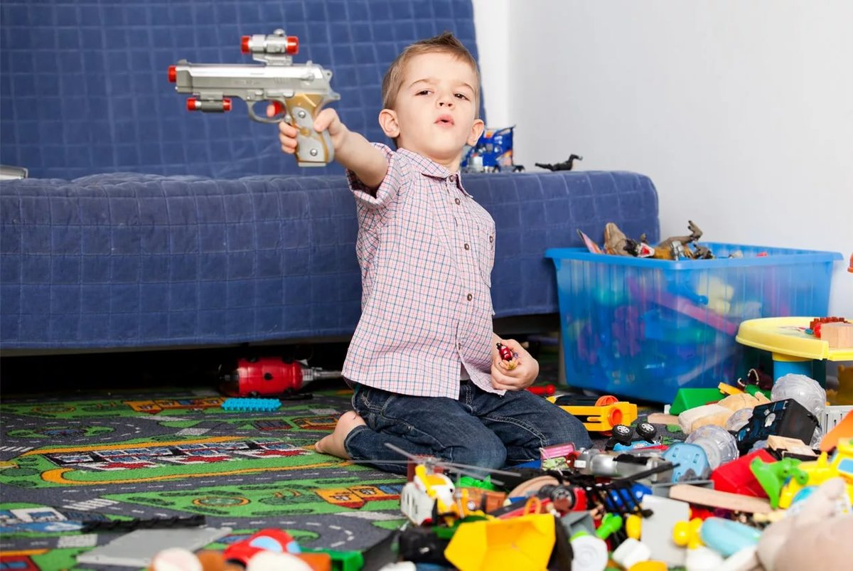 should children play with toy guns Should children play with toy guns jump to media player a new exhibition at london's museum of childhood shows the history of children and war games, should children still be allowed to play with.
