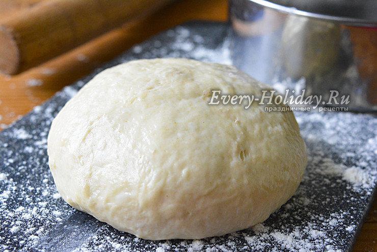 Классическое дрожжевое тесто для пирогов