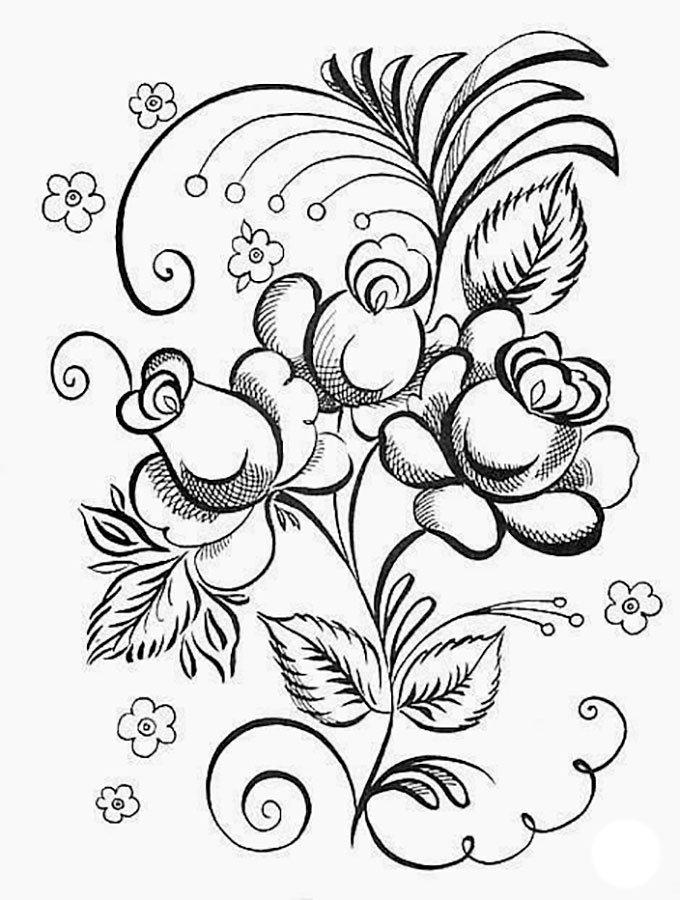 Обнимашки, русский орнамент картинки раскраски