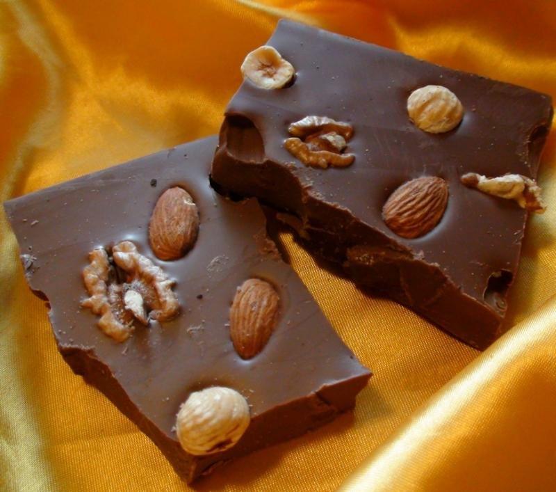 картинки шоколадки с орешками жлобине слесарь перебрасывал