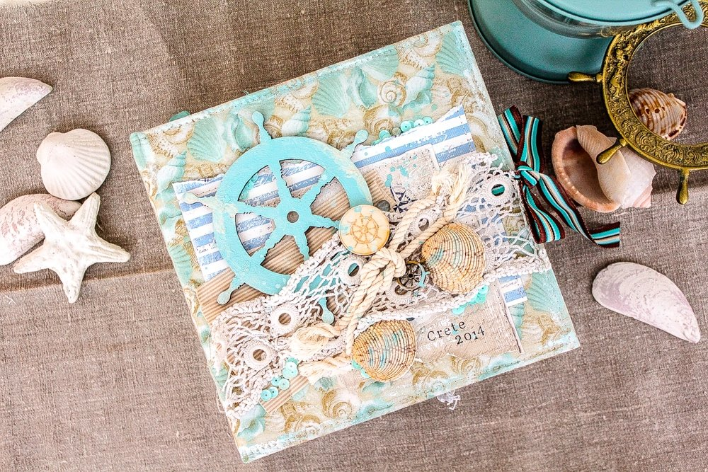 Скрапбукинг открытки тема путешествие, открытку юбилеем