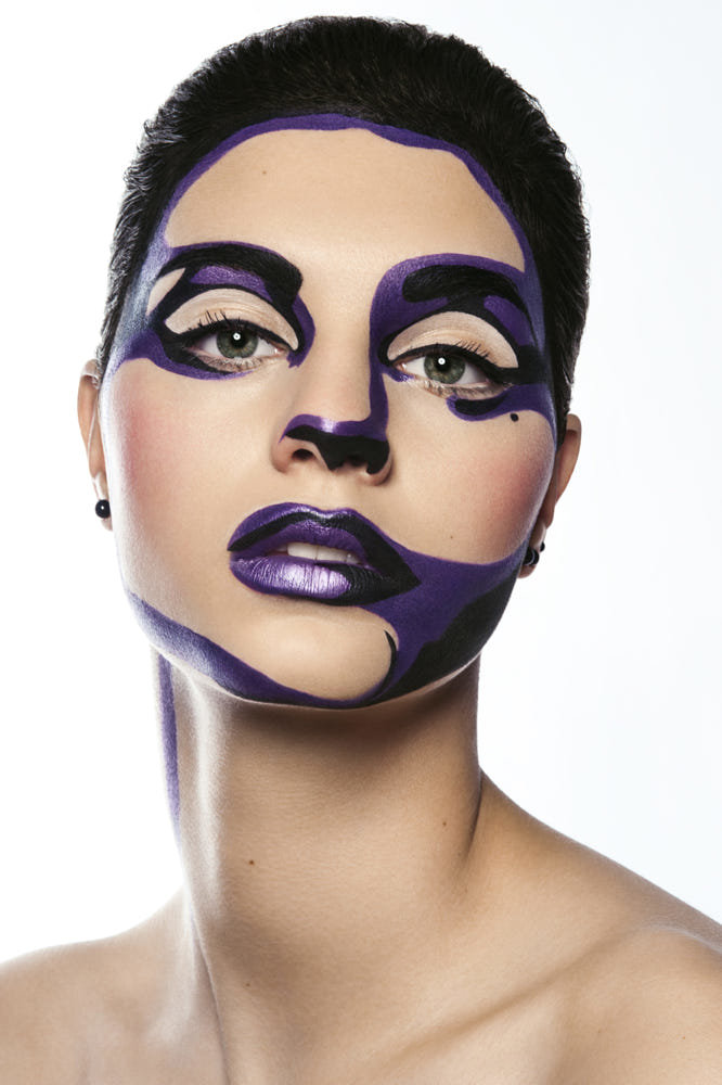 extreme makeup looks - 666×1000