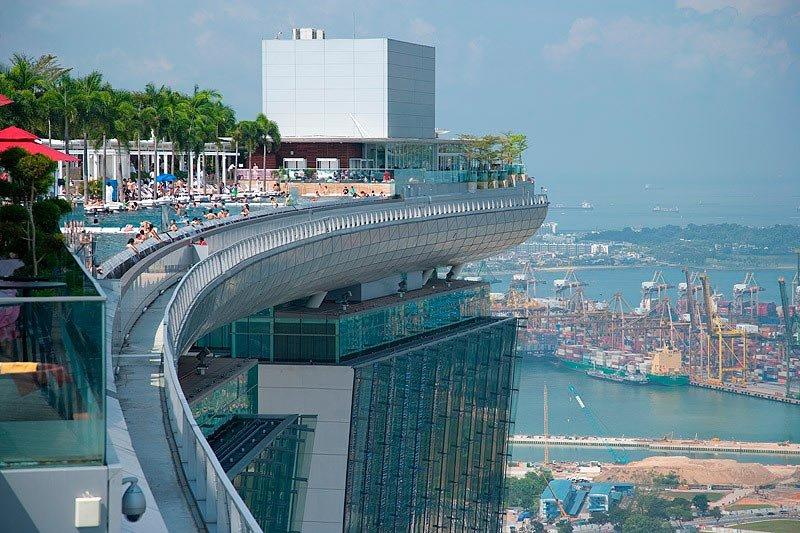 шторы представляют марина бей сингапур бассейн на крыше фото притянет