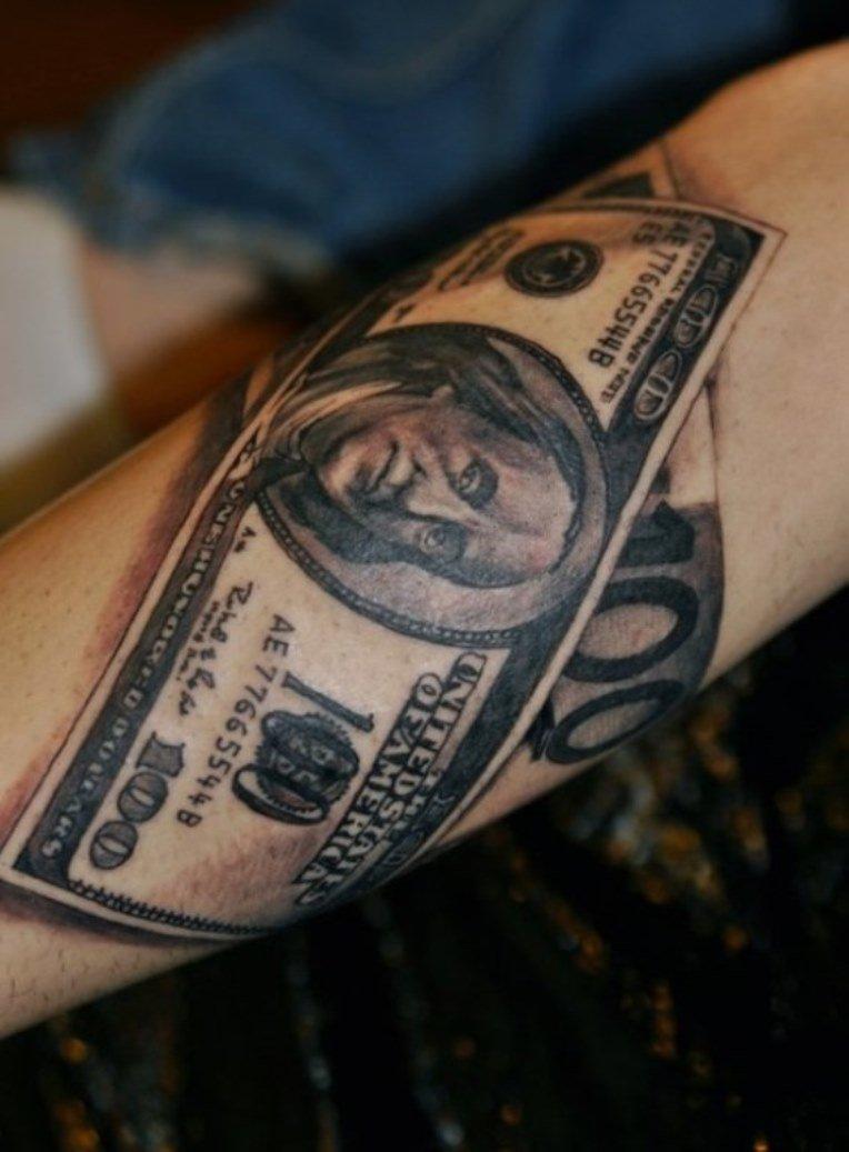Тату деньги картинки