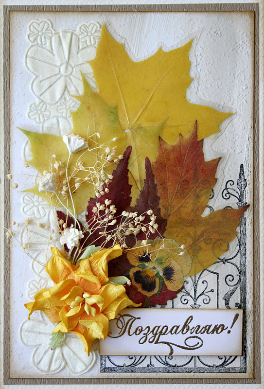 Картинки, открытки с листьями