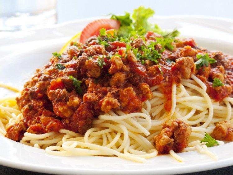 Паста с фаршем по итальянски рецепт