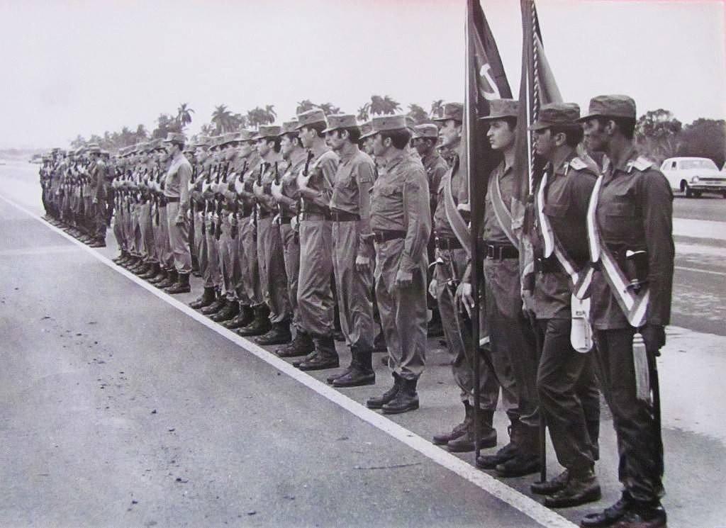 советские войска на кубе фото