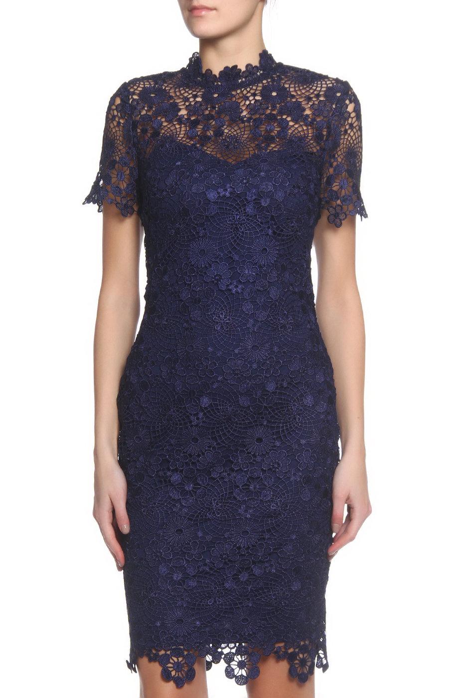 8b8fb6cc7296 Брендовые вечерние и коктейльные платья темно синего цвета в интернет  магазине MSK-MODA ! Размеры