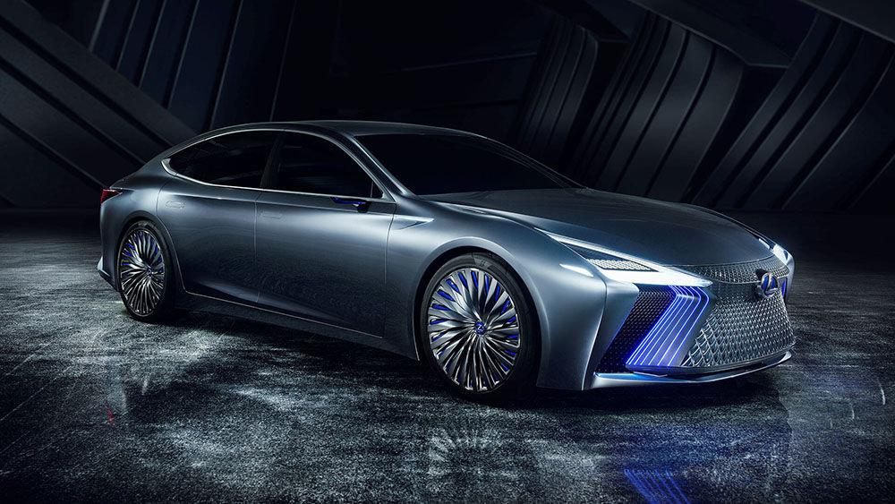 Lexus LS+ был представлен в Токио на выставке в 2017 году и занял вторую позицию рейтинговой таблицы на 2018 год. Модель модифицирована теÑнологиями автономного управления Highway Teammate, которая предусматривает возможность самостоятельной перестройки автомобиля в другой ряд, возможность съеÑать с одной автострады на другую, держать дистанцию. На сегодняшний день модель не является серийной, однако, производители говорят о возможности реализации проекта к 2020 году.\