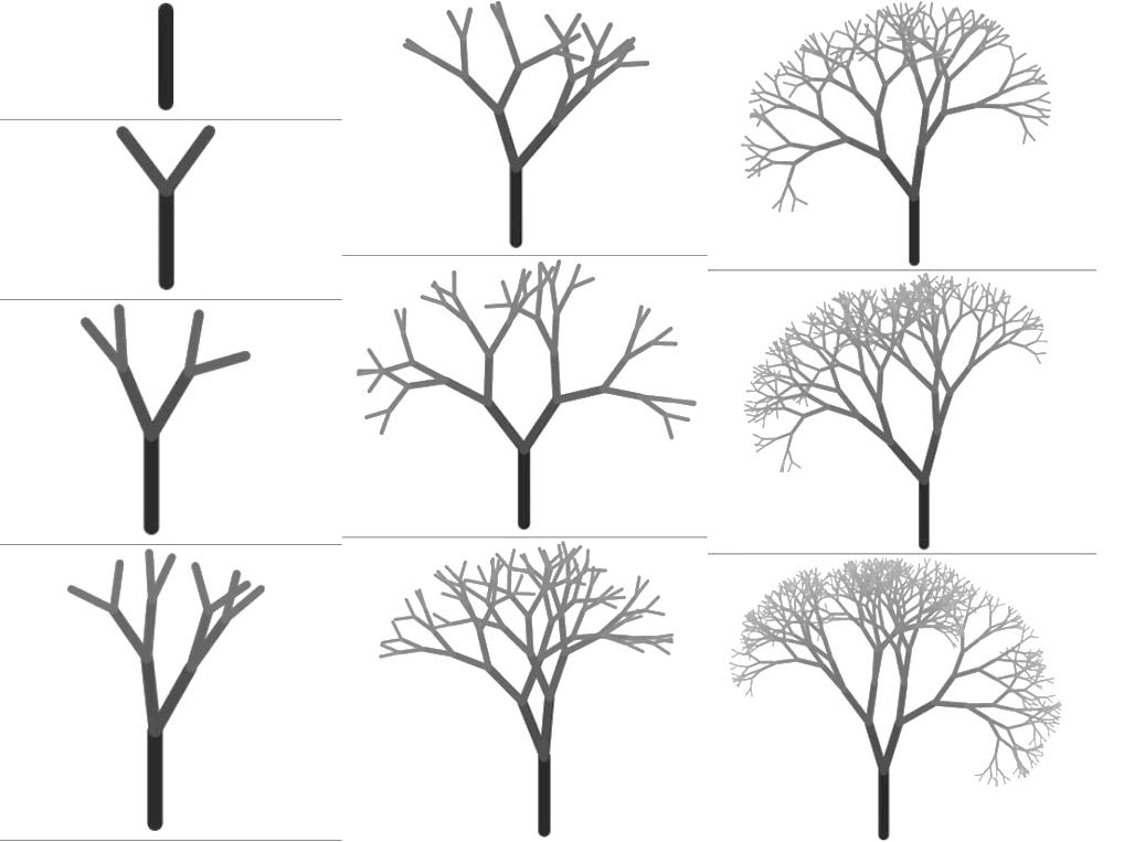 дерево картинки поэтапно для этом