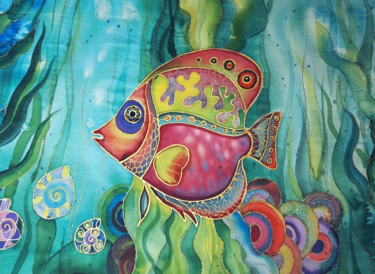 картинки подводного мира батик сих пор муж
