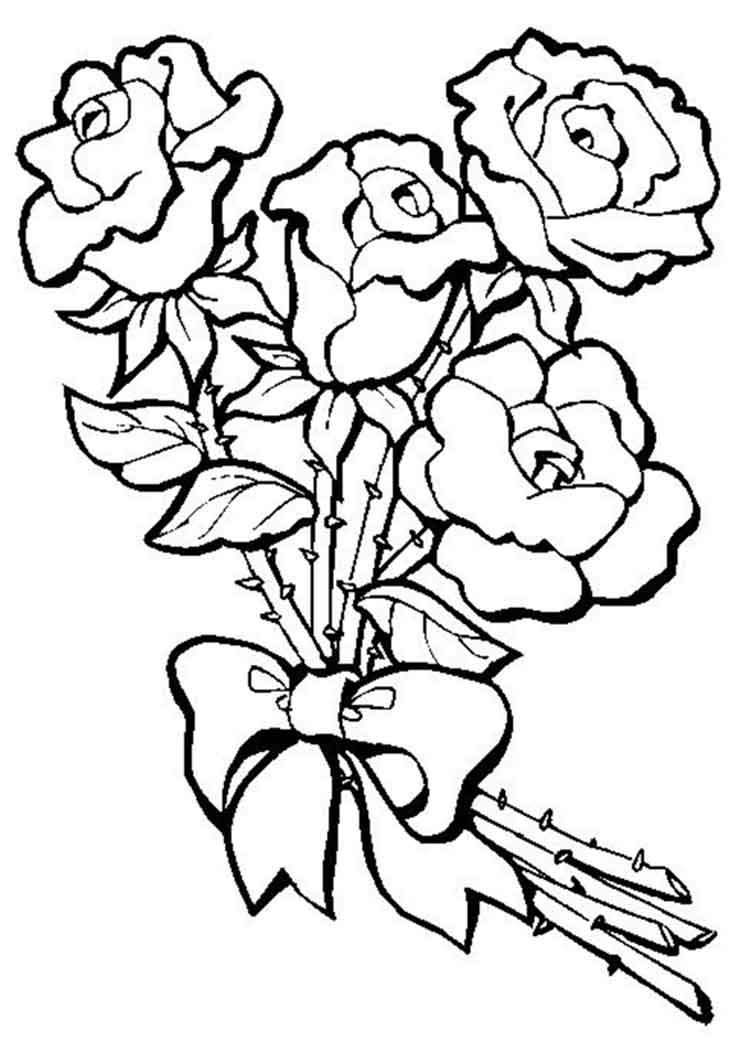 Как рисовать открытку с розой