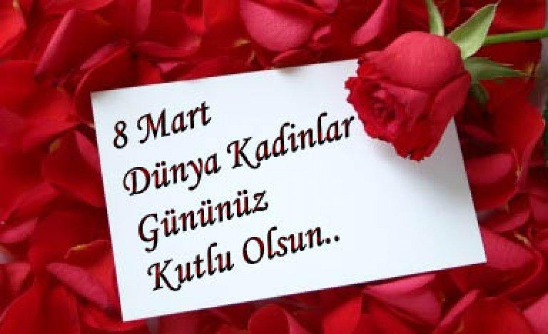 Поздравление с 8 марта на азербайджанском