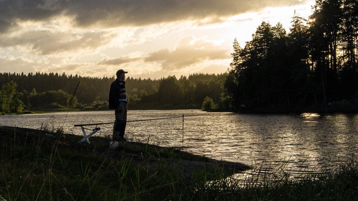 Рыбалка на реке Вуоксе