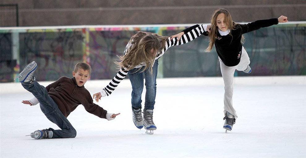 Прикольные картинки с коньками, родителям открытка открытки