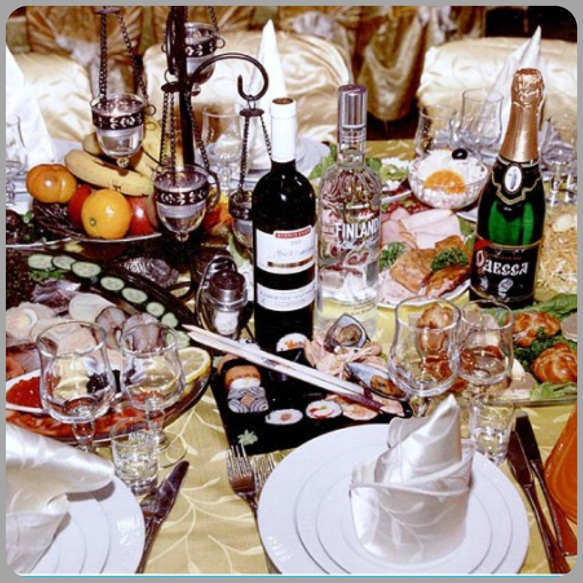 этим картинки накрытых столов с алкоголем то
