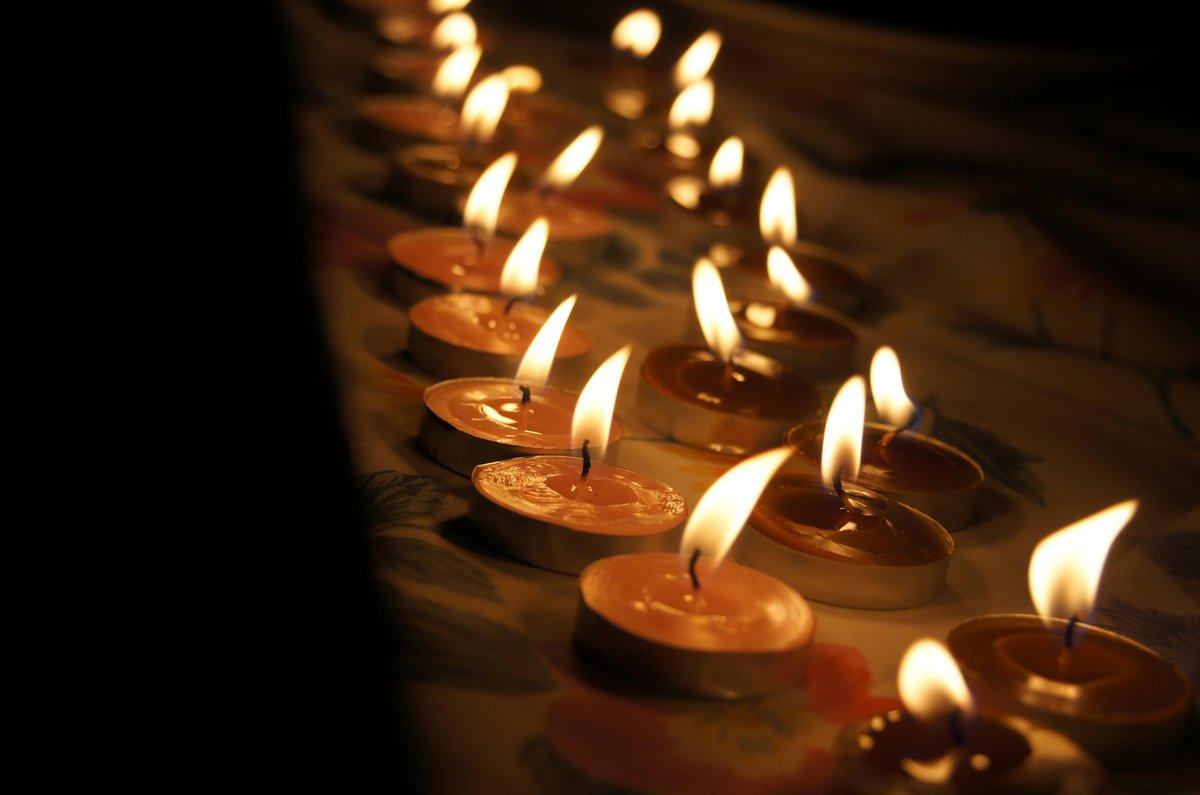 Открытки свечи фото