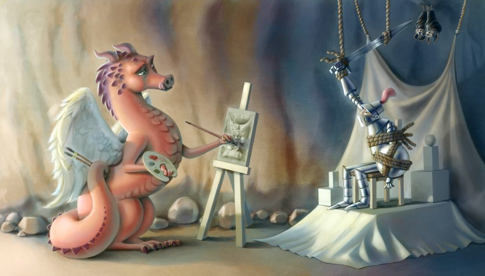 Картинки про прикольных драконов, николаем