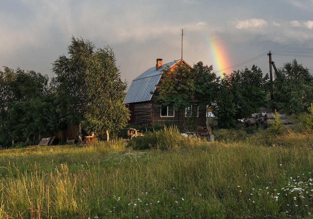 Фото открытки деревня