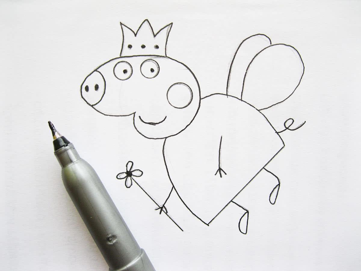 Поздравляем, срисовать легкие рисунки и красивые и прикольные маркером