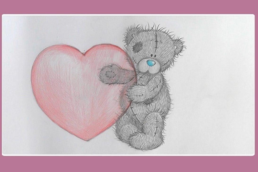 Картинках отгадать, как рисовать открытки тедди