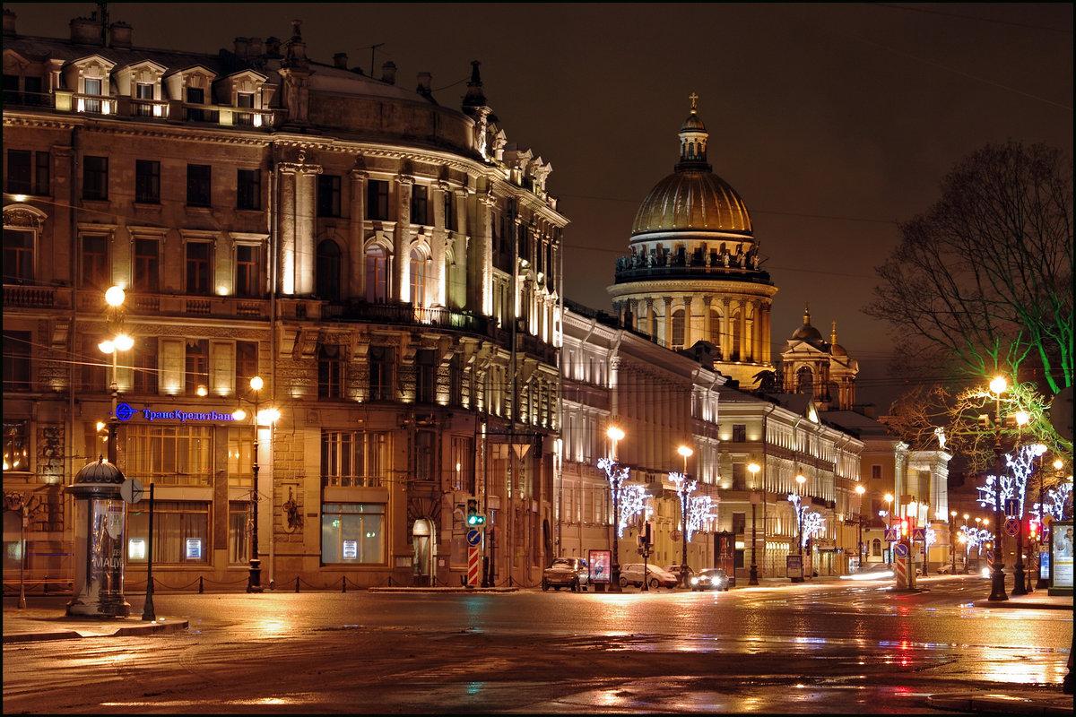 Самые красивые фото ночного санкт петербурга