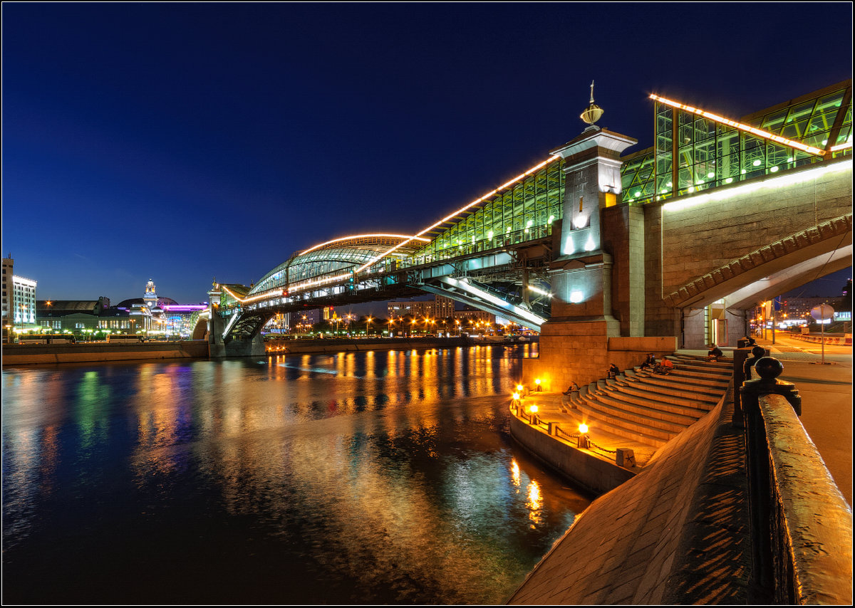 пешеходные мосты москвы фото ротивопоказания