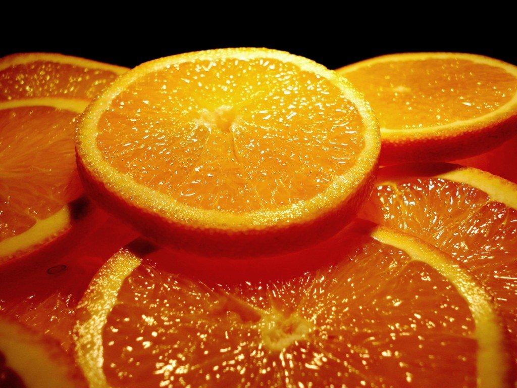Женщина, оранжевое настроение картинки