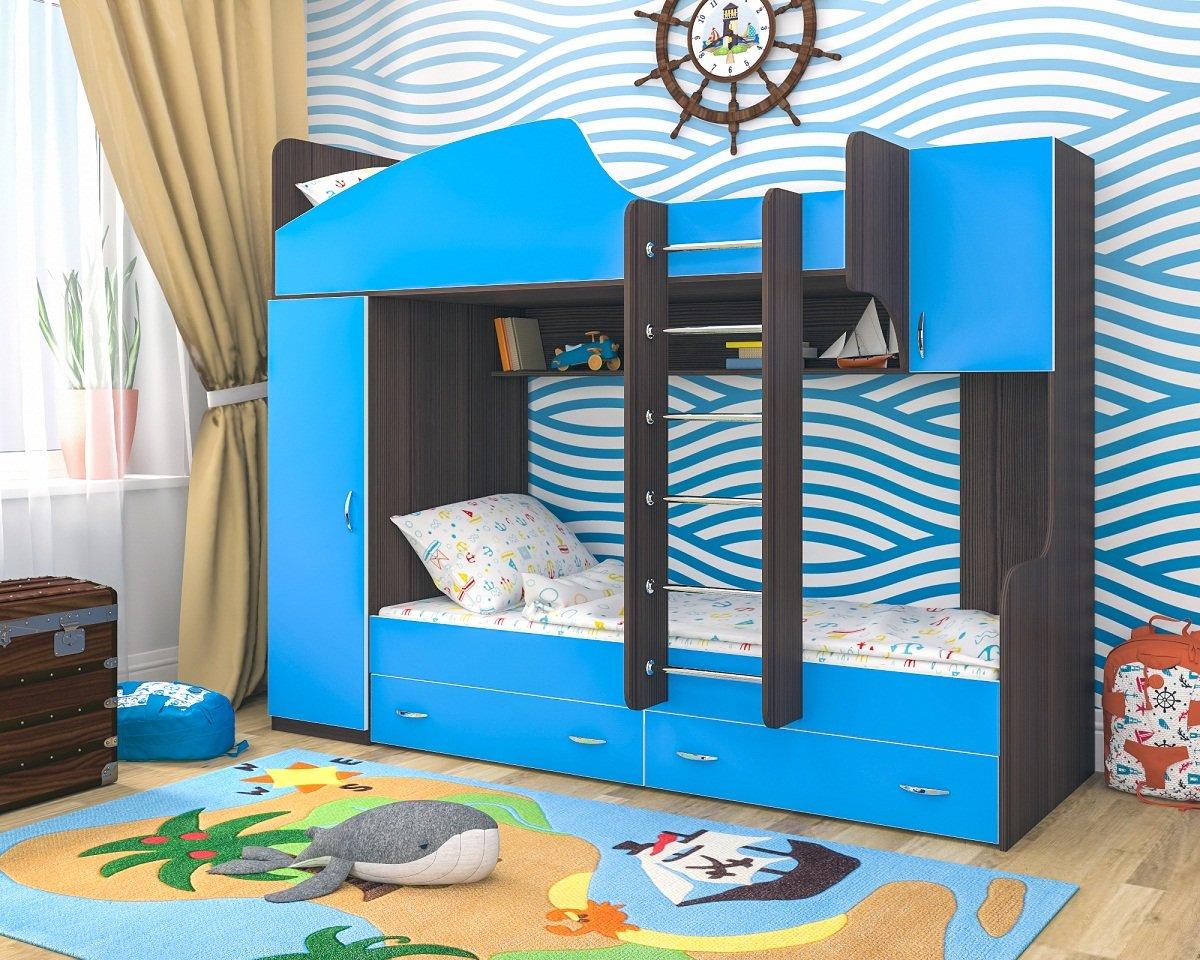 Все преимущества, которые предлагают детские двухъярусные кровати.
