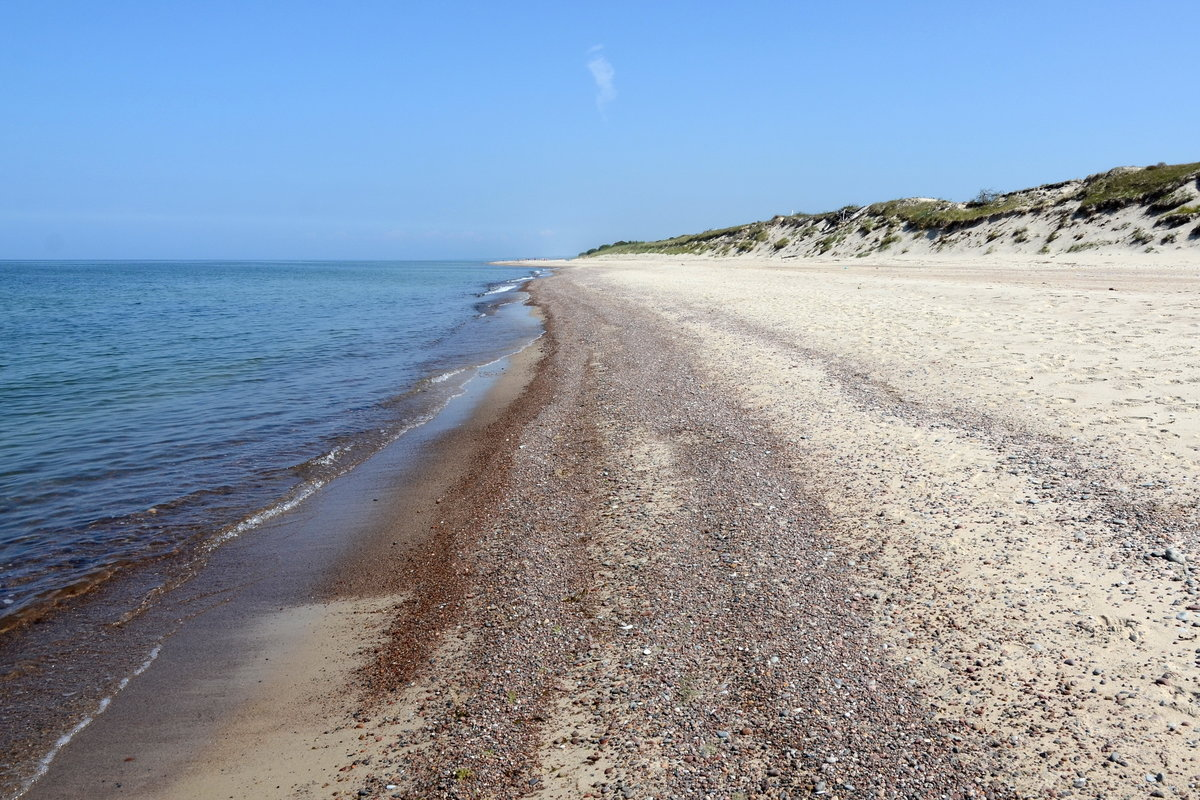 куршская коса карта фото пляжа наш