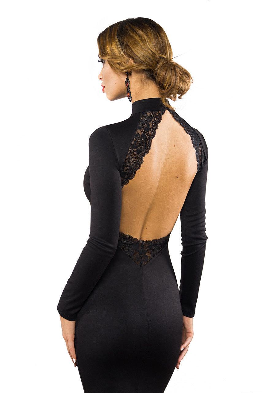 платье спина купить