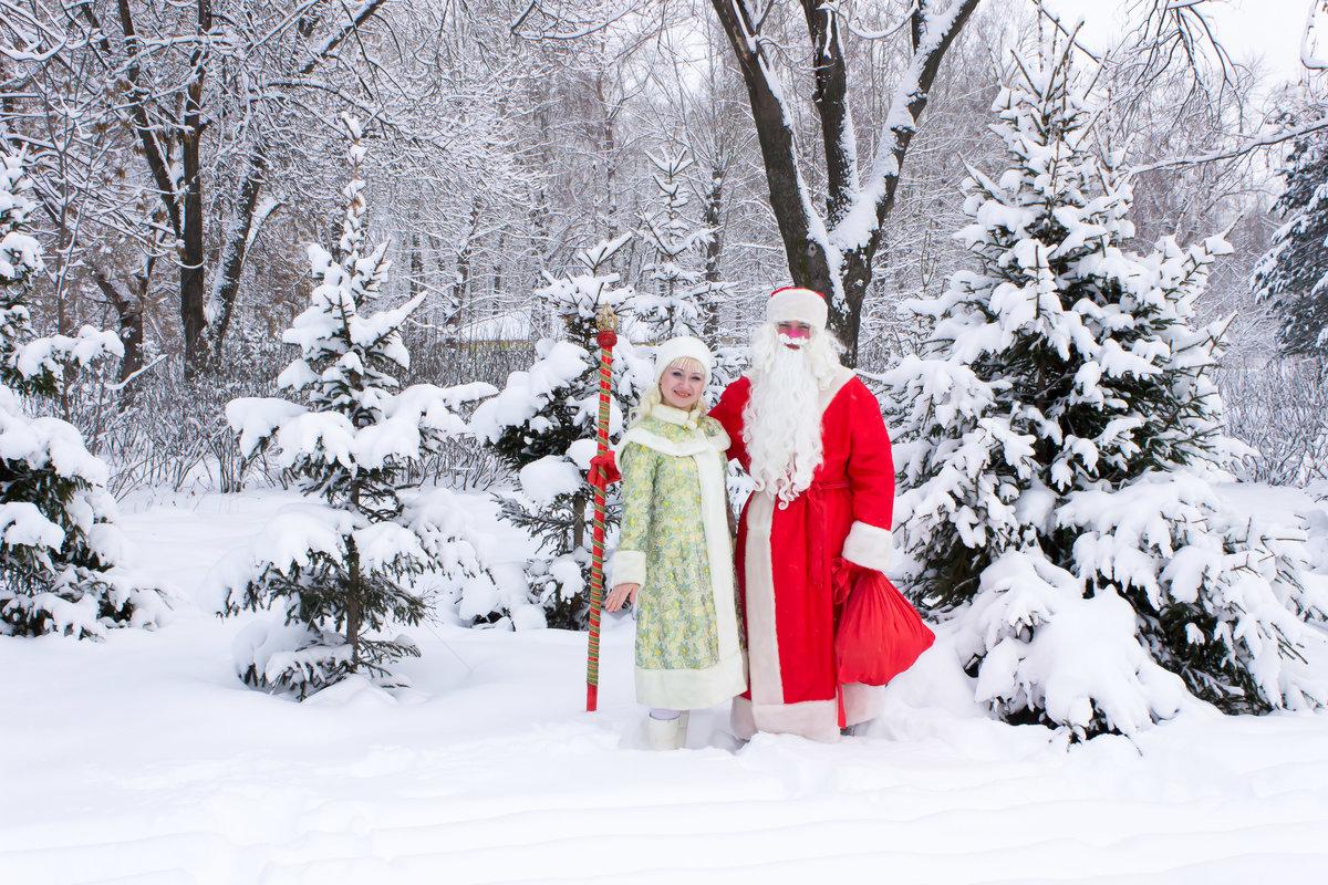 Картинки деда мороза и зимы