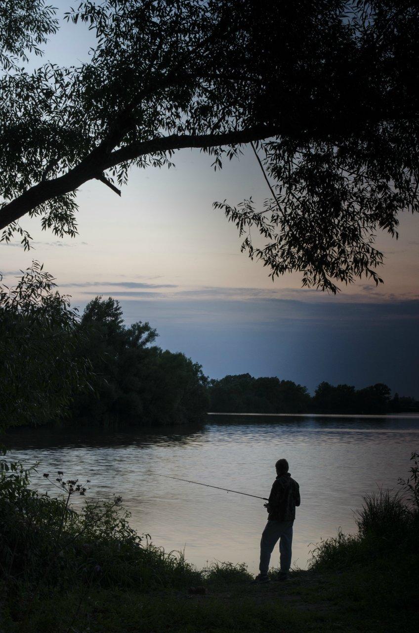 Рыбалка ночью в подмосковье