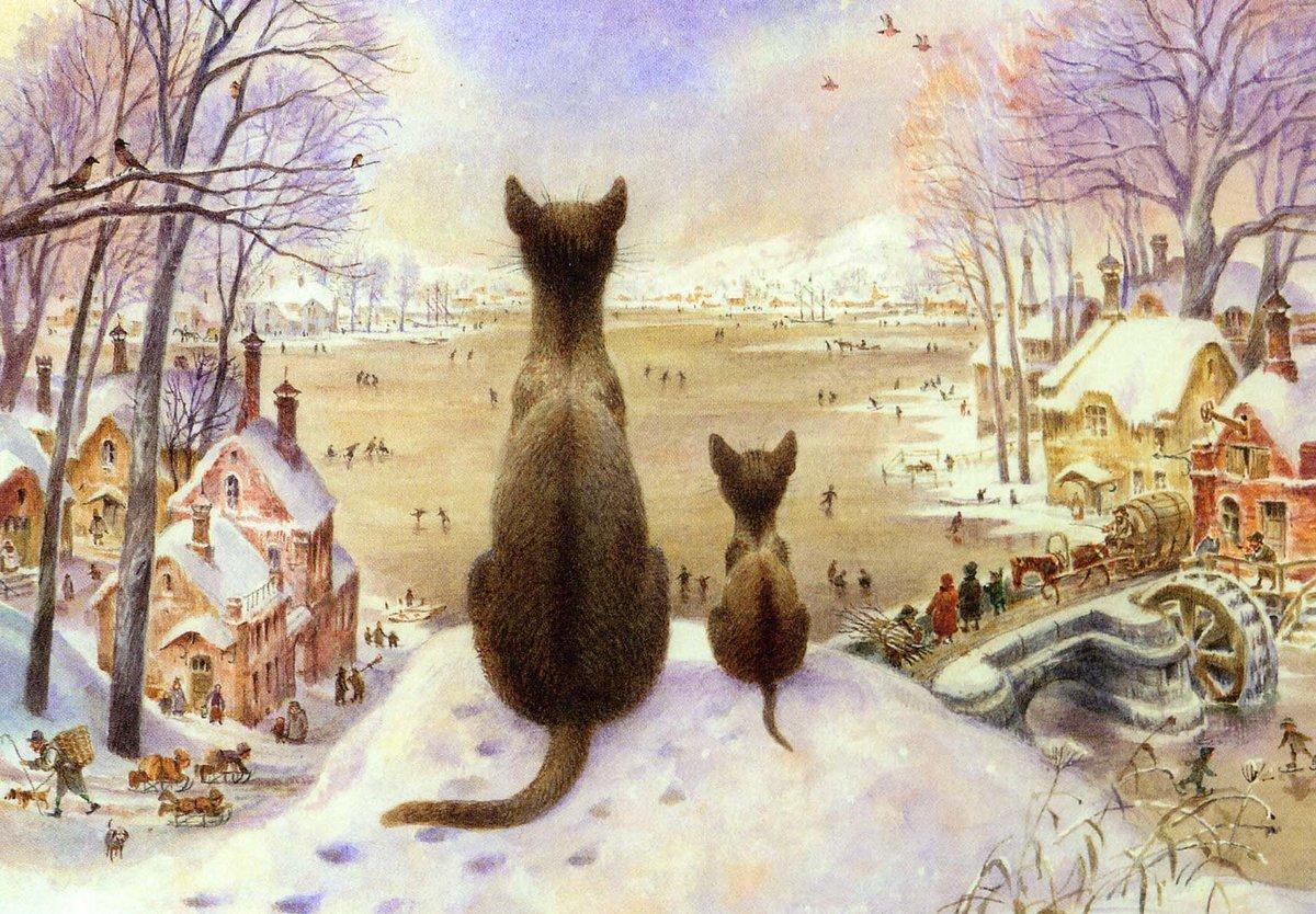 Дню, картинки петербургские коты владимира румянцева