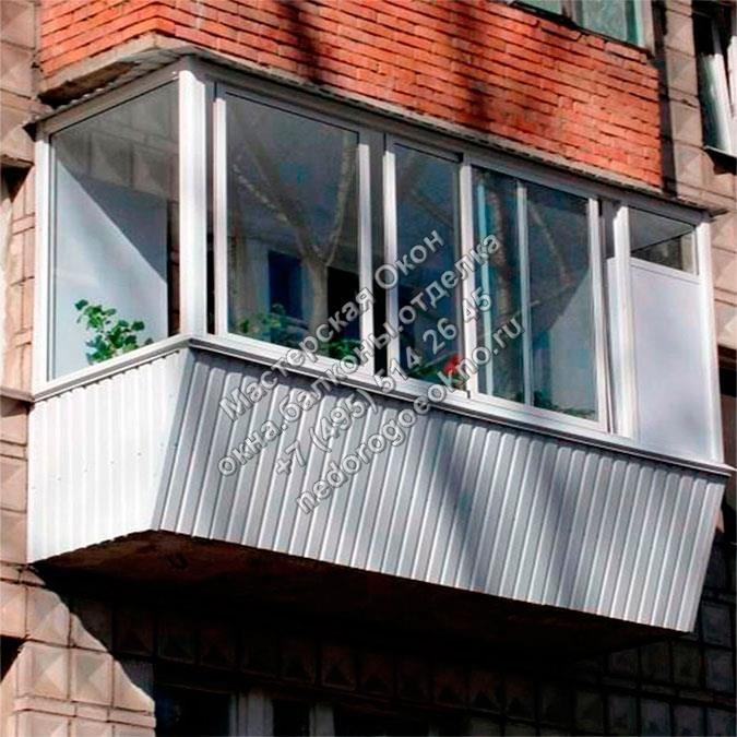 «окна дёшево» занимается остеклением балконов уже более 7 лет.