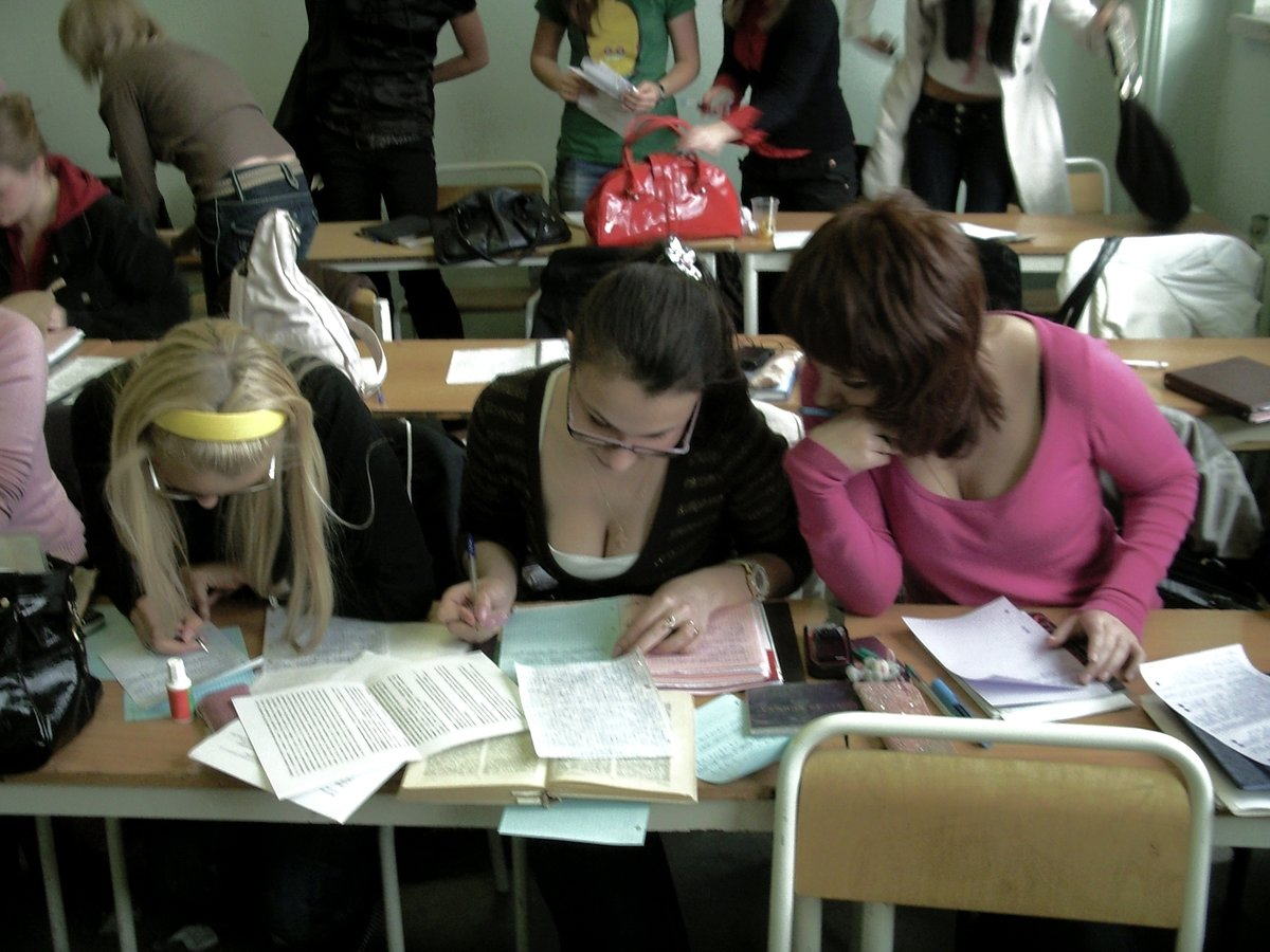 Студентка пришла сдавать экзамен, Студентки сдали экзамен профессору устно 12 фотография